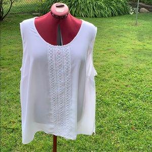 Catherine's White camisole. Size 3X